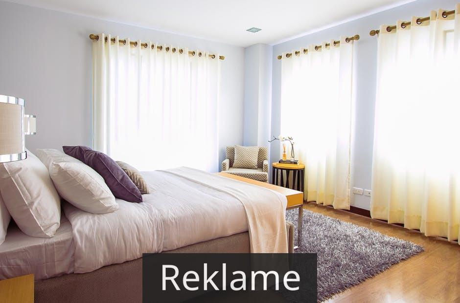 Indret soveværelset med farver og ro